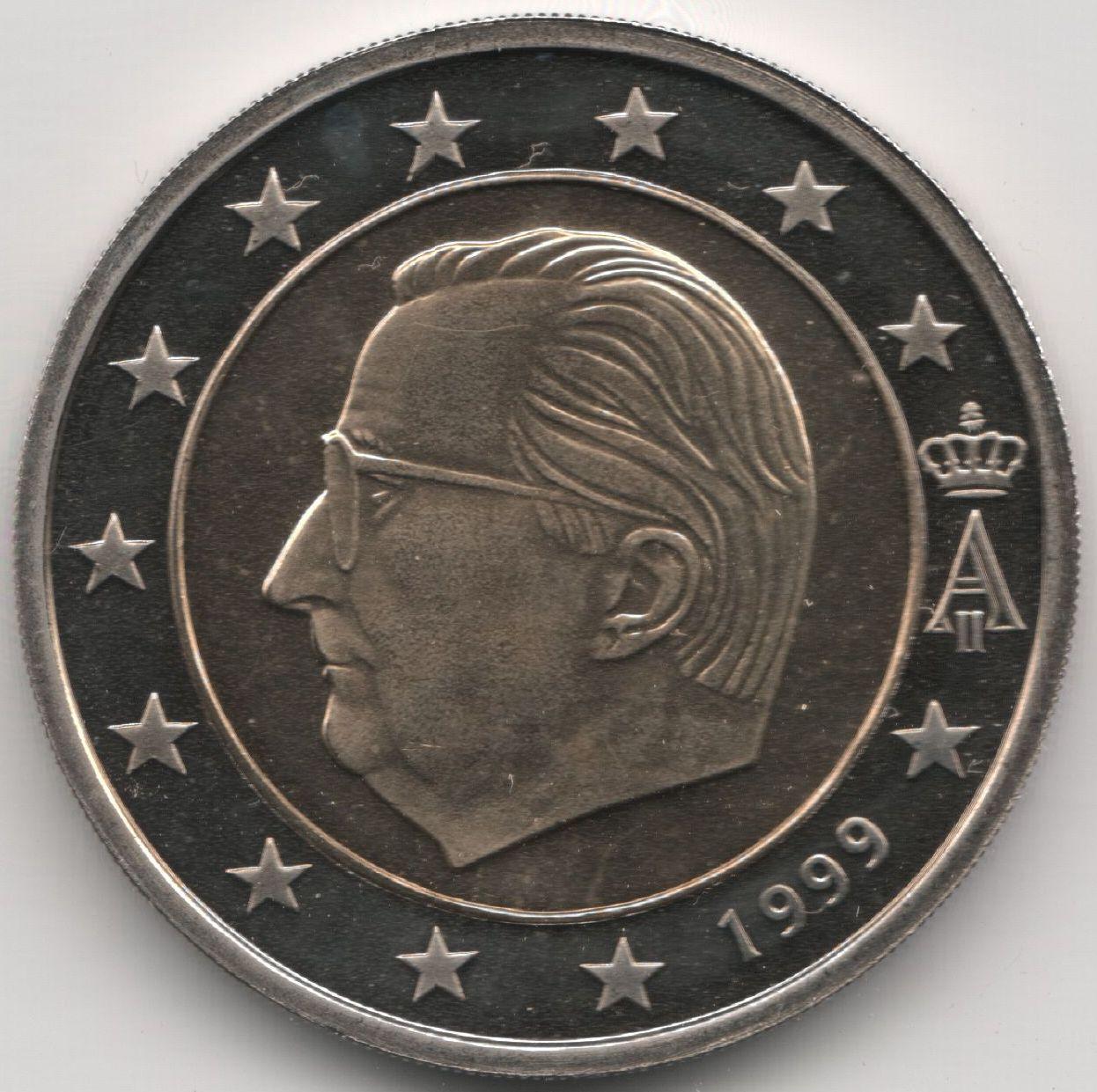 Afbeeldingen Euromunten 2 Euro